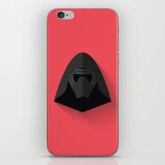 Kylo Ren Flat Design iPhone & iPod Skin
