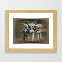 JoeyBats4 Framed Art Print