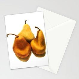 Pear Trio Stationery Cards