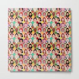 the colors of women Metal Print