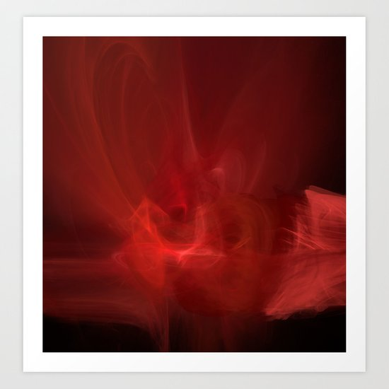 The Color of Passion Art Print