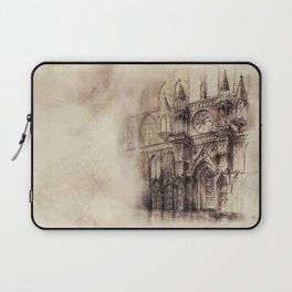 Gothic Cathedral 2 Laptop Sleeve