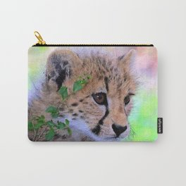 Aqua_Cheetah_20180102_by_JAMColorsSpecial Carry-All Pouch