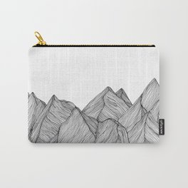 Mountains III Carry-All Pouch