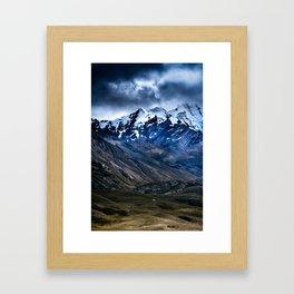 Cordillera Blanca Framed Art Print