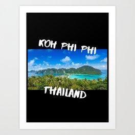 Koh Phi Phi Art Print