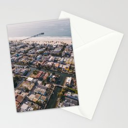 From Above | Venice Canals, Caifornia Stationery Cards