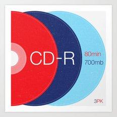 Obsolete — CD-R Art Print
