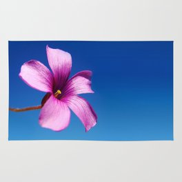 Purple bloom Rug