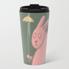 Sad Bunny  Travel Mug