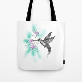 Purple November Tote Bag