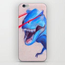 Laser Dino iPhone Skin