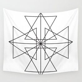 Triangle Love Wall Tapestry