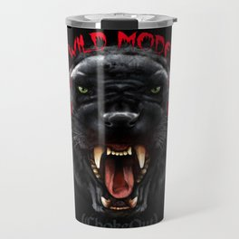 Wild Mode. Bjj, Mma, grappling Travel Mug