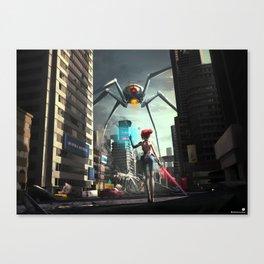 VR World Canvas Print
