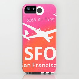 SFO San Francisco iPhone Case