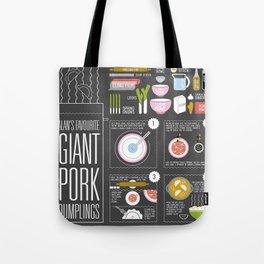 Alan's Favourite Giant Dumplings Tote Bag