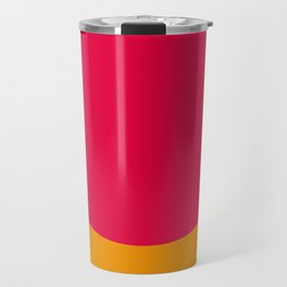 Cilindric Cartilage of someone, don't know who. Purple Background. Travel Mug