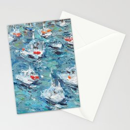 In the Harbor Stationery Cards