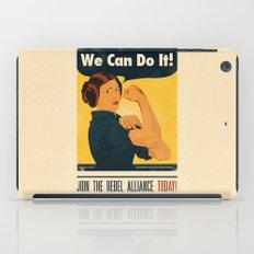 Leia the Riveter 2: The Alliance Strikes Back iPad Case