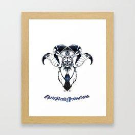 High Baphomet Framed Art Print