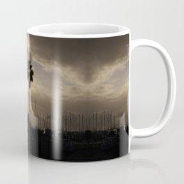 Palm trees & boats Coffee Mug