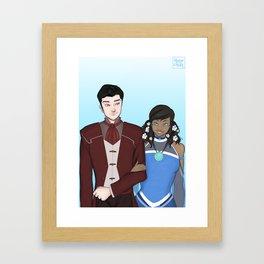 Makorra Wedding Portrait Framed Art Print