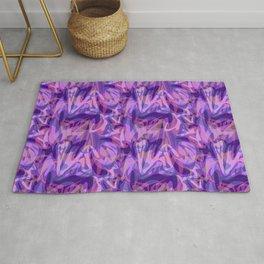 Lilac abstract Rug