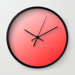 Solution Wall Clock