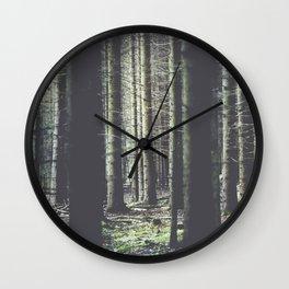 Forest feelings Wall Clock