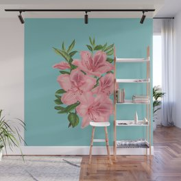 Vintage Flowers - Tiger Lilies Wall Mural