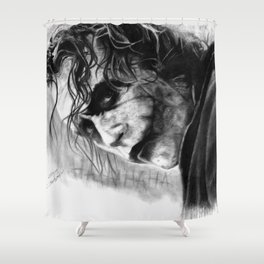 Heath Ledger Shower Curtain