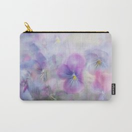 little pansies Carry-All Pouch