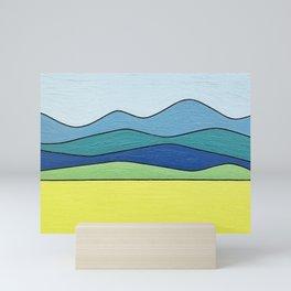 Blue Ridges Mini Art Print