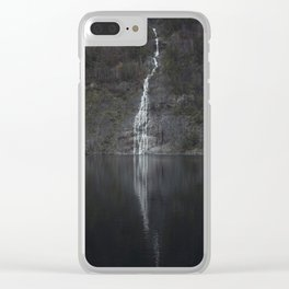 Waterfall (The Unknown) Clear iPhone Case