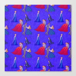 The Princess and the Con Man Canvas Print