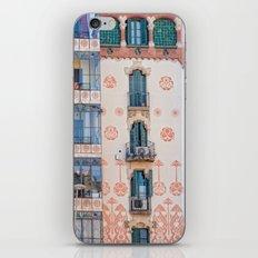 Surreal house in Barcelona. iPhone & iPod Skin