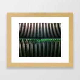 Escalator Framed Art Print