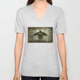 Thunderbird, Emblem of the Anishinaabe people Unisex V-Neck