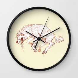 bark Wall Clock