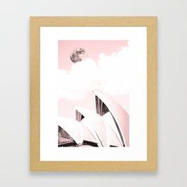 Sydney, Australia Travel Poster 5 Framed Art Print