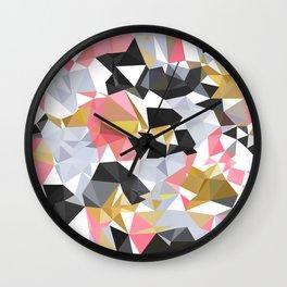 Cool geometric abstract pattern Wall Clock