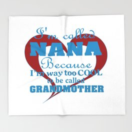 Cool Nana Throw Blanket