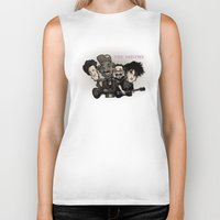 smiths Biker Tanks featuring The Smiths (black version) by BinaryGod.com