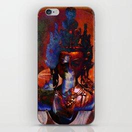 Dakini Wisdom Goddess #7 Dark Mirror iPhone Skin