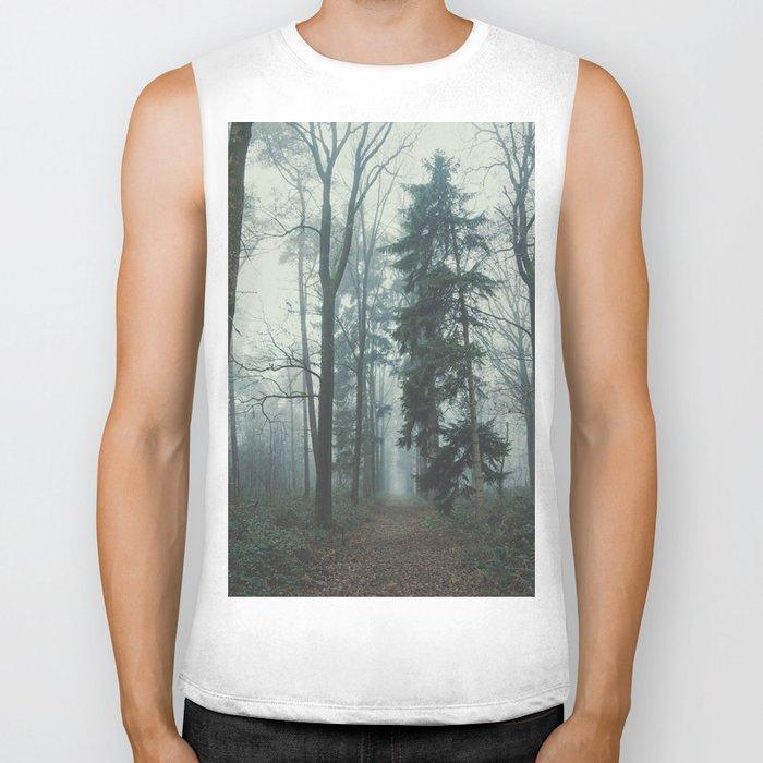 Misty Woods II #adventure #photography Biker Tank