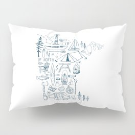 Minnesota Up North Collage Pillow Sham
