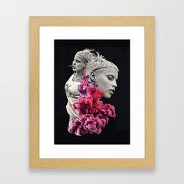 Controversy Smoke Framed Art Print