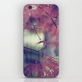 maple leaf love iPhone Skin