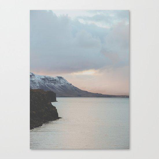 Western Region, Iceland Canvas Print